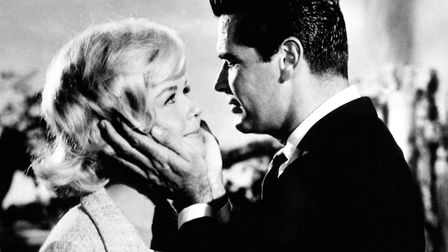 Doris Day and James Garner in a scene from Move Over, Darling, a 20th Century Fox film which has bee