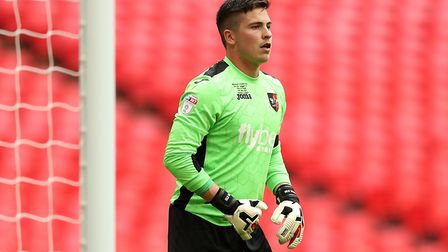 Ipswich Town have been linked with a move for Exeter goalkeeper Christy Pym. Picture: PA
