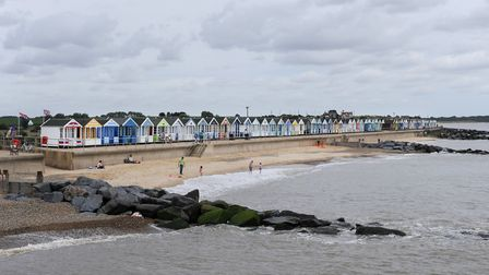 A view of Southwold beach from the pier. Picture: SARAH LUCY BROWN