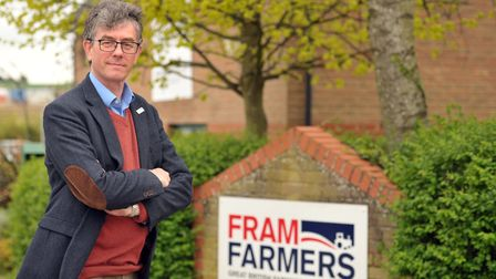 Richard Anscombe, chief executive of Fram Farmers Picture:SARAH LUCY BROWN