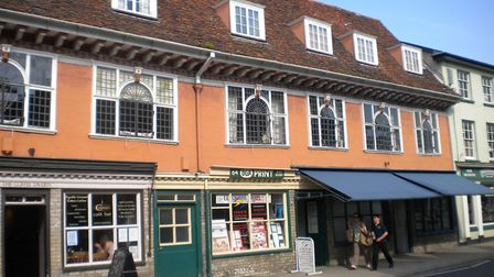 Shop fronts in Hadleigh