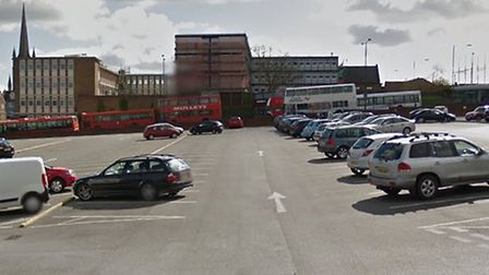 A pay on exit trial will be trialled at St Andrews Street car park in Bury St Edmunds Picture: GOOGL