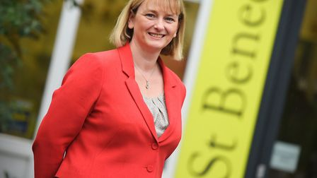 Former headteacher at St Benedict's Catholic School in Bury St Edmunds Kate Pereira has moved to a s