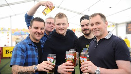 The Ipswich Beer Festival pictured a few years ago. Picture: LUCY TAYLOR