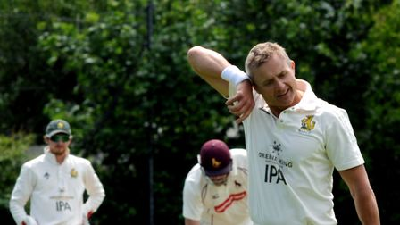 Sean Cooper, who had excellent figures of 7-3-6-3 to help Bury St Edmunds to victory at Wamil Way. P