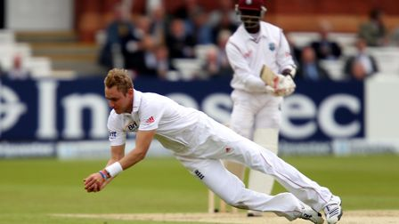 Stuart Broad has backed the production of the 'old' style Dukes balls for the Ashes. Picture: PA SPO