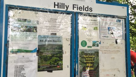Hilly Fields Park, the home of the Hilly Fields parkrun in the Borough of Lewisham
