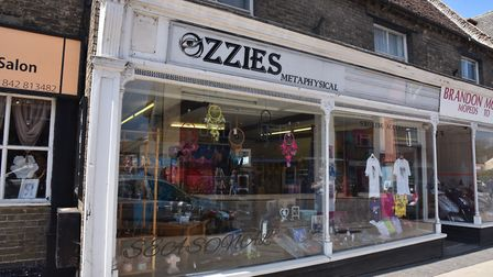 Gary Osbourne of Ozzies Metaphysical in Brandon where they experience supernatural occurrences on a