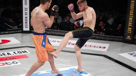 Andre Goncalves, right, returns to action at Contenders 26. Picture: JERRY DAWS