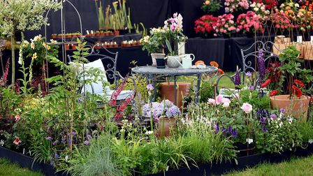 One of the show gardens in the Flower and Garden Show at the 2018 Suffolk Show Picture: SUFFOLK AGR