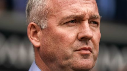 Ipswich Town manager Paul Lambert has won just four of his 32 games in charge. Photo: Steve Waller