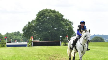 British Eventing weekend at Stratford Hills Equine Centre in 2016. Barbie Hurrell on Fyn Picture: S