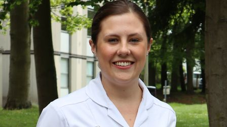 Polly Leggett is a student nurse for West Suffolk NHS Foundation Trust Picture: WSFT