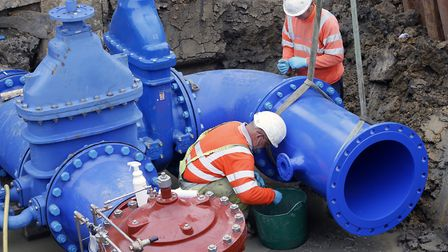 Anglian Water workers