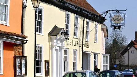 The Boxford Fleece pub has reopened. Picture: ARCHANT