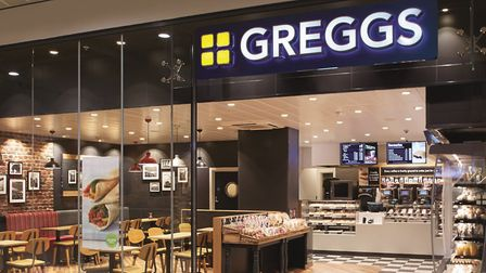 Greggs has reported a surge in shares thanks to the success of its vegan sausage roll. Picture: GREG