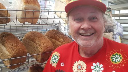 Mick the Baker in Diss. Picture: RACHEL EDGE
