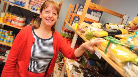 FIND foodbank founder Maureen Reynel said items such as new bedding were among those families it wor