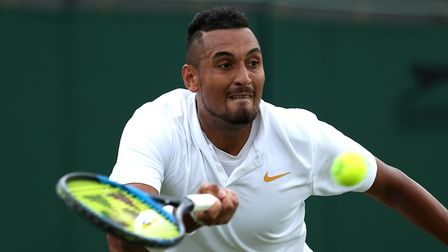 Nick Kyrgios, more controversy at the Italian Open. But at least he made sure we all knew the Italia
