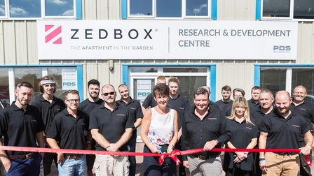 Opening of Zedbox's new research and development centre Picture: CHERRY BEESLEY