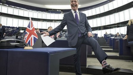 Nigel Farage in the European Parliament, will his new Brexit Party win seats - or will they be squee