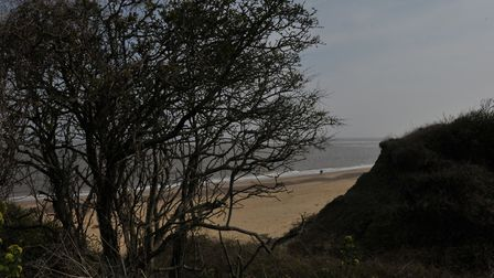 Weird Suffolk: Crazy Mary's Hole, Pakefield Picture: SARAH LUCY BROWN