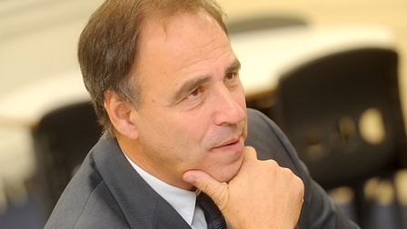 Novelist and screenwriter Anthony Horowitz has a home in Orford. Picture: GREGG BROWN