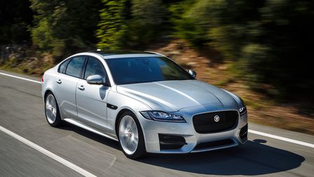 A Jaguar XF is named on a list of cars leased by East of England Ambulance Service staff Picture: JA