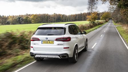 A BMW X5 worth nearly �55,000 also features on the list Picture: BMW