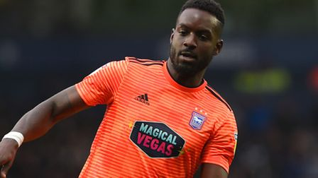Simon Dawkins made just two substitute appearances for Ipswich Town. Photo: Pagepix