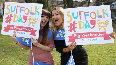 Local residents are encouraged to organise a Suffolk Picnic for the big day. Picture: CHARLOTTE BON