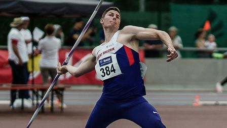 Harry Hughes, competiing for Great Britain back in 2016