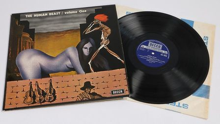 A copy of The Human Beast - Volume One (Decca SKL 5053) was also up for auction Picture: DANIEL PAGE
