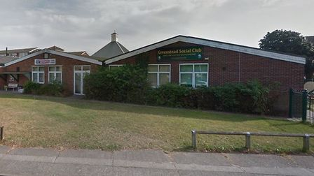 Greenstead Social Club in Blackthorn Avenue, Colchester. Picture: GOOGLE MAPS