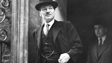 A 1949 photograph of Primer Minister Clement Attlee. Picture: PA