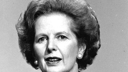A 1984 picture of Prime Minister Margaret Thatcher