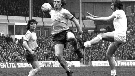 Kevin Beattie in action Picture: ARCHANT