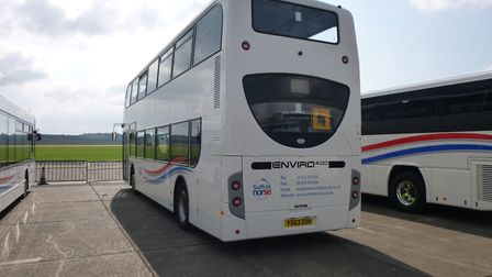 The 112 bus service, which is run by Suffolk Norse, looked like it was going to be terminated in the