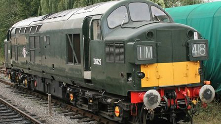 The Epping Ongar Railway in Essex has a Class 37 in mid-1960s livery. Picture; PAUL GEATER