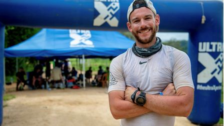 Josh Hearnden has completed his first ultra marathon and will start his next in Peru in June. Pictur