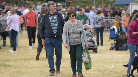 Thousands of visitors enjoyed the Hadleigh Show Picture: SARAH LUCY BROWN