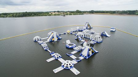 Alton Water in Suffolk is a beautiful location to cool down this summer: AQUA PARKS GROUP
