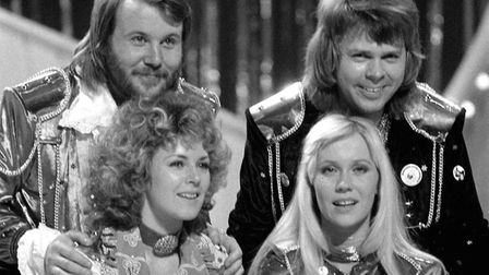 """Abba won with """"Waterloo"""" in 1974. Picture: PA"""