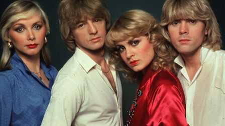 Picture shows: Bucks Fizz won Eurovision with Making Your Mind Up in 1981. Picture: BBC