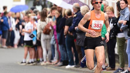 Hundreds of runners took part in the Woodbridge 10K Picture: SARAH LUCY BROWN