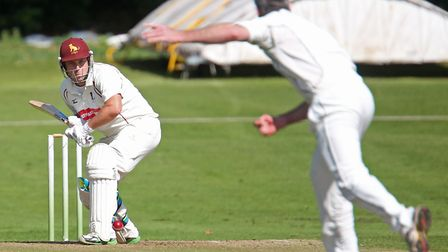 Darren Batch, who top-scored with 72 in Sudbury's home defeat to leaders Frinton. Picture: RICHARD M