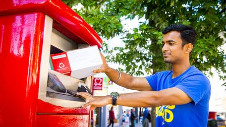 Parcel postboxes are to be rolled out from August Picture: ROYAL MAIL