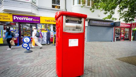 Existing meter postboxes are to be converted into parcel postboxes Picture: ROYAL MAIL