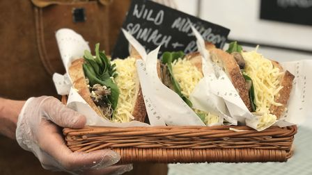Wright's Café is the new cheese toastie stall in Bury Market. Picture: Victoria Pertusa