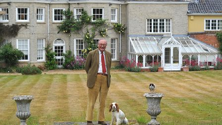 Richard Martineau, from Walsham-le-Willows, is also one of the first recipients of the Suffolk Medal